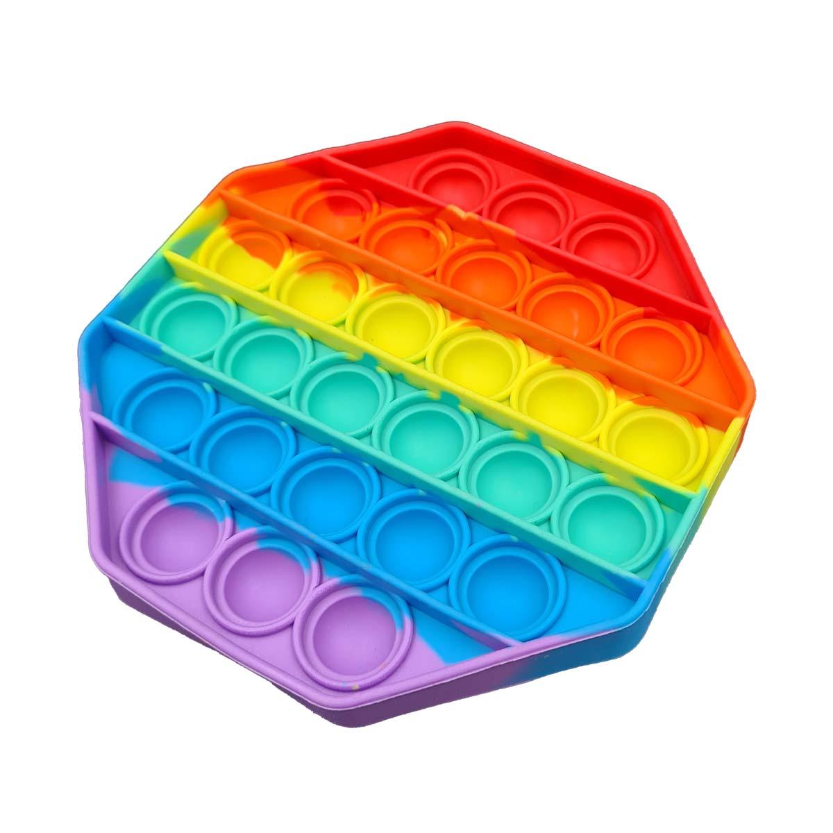 KIT 2 Pop It Fidget Toy Empurre Bolha Anti-Stress