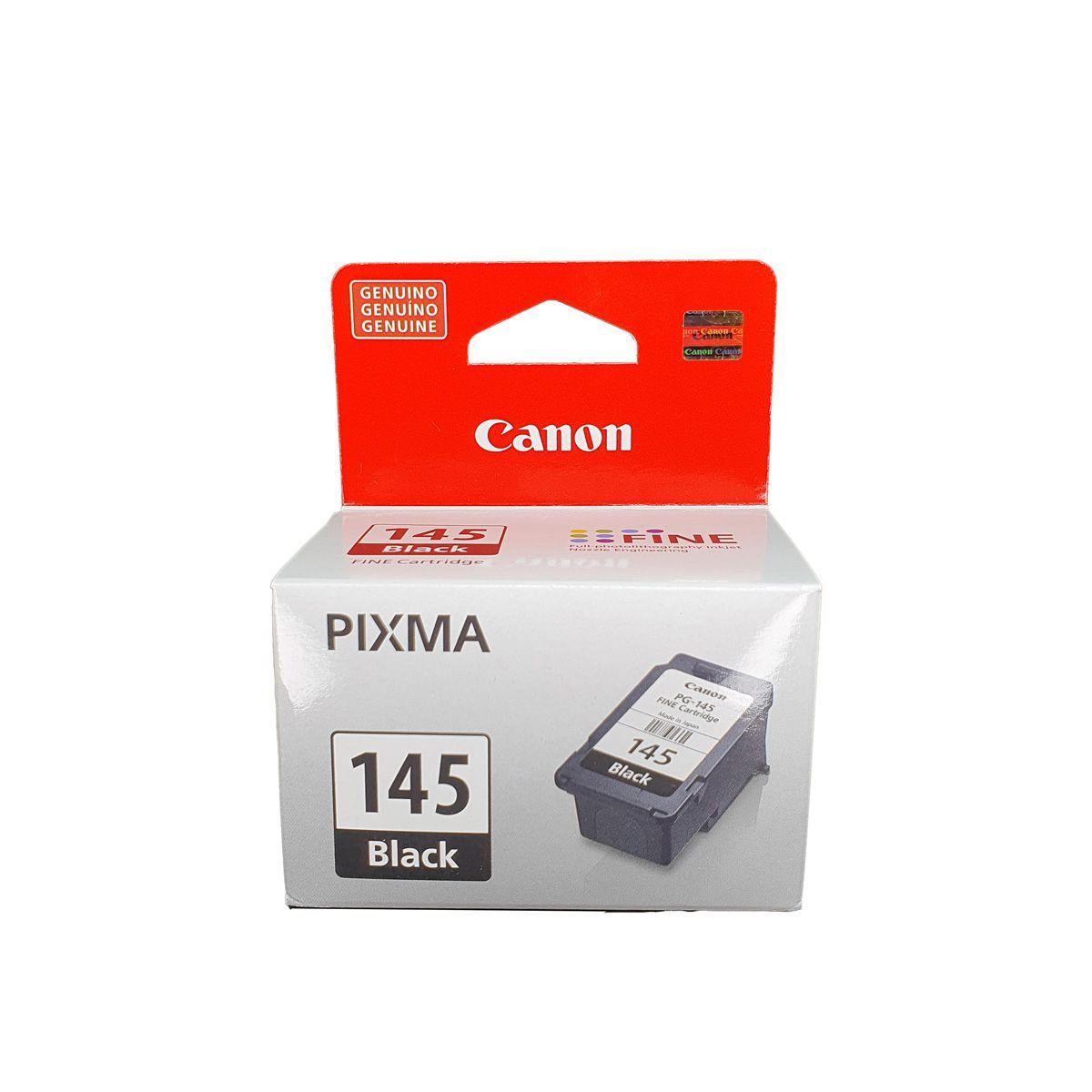 Kit 2x Cartucho Impressora Canon Pg145 Pg-145 Para Mg2410