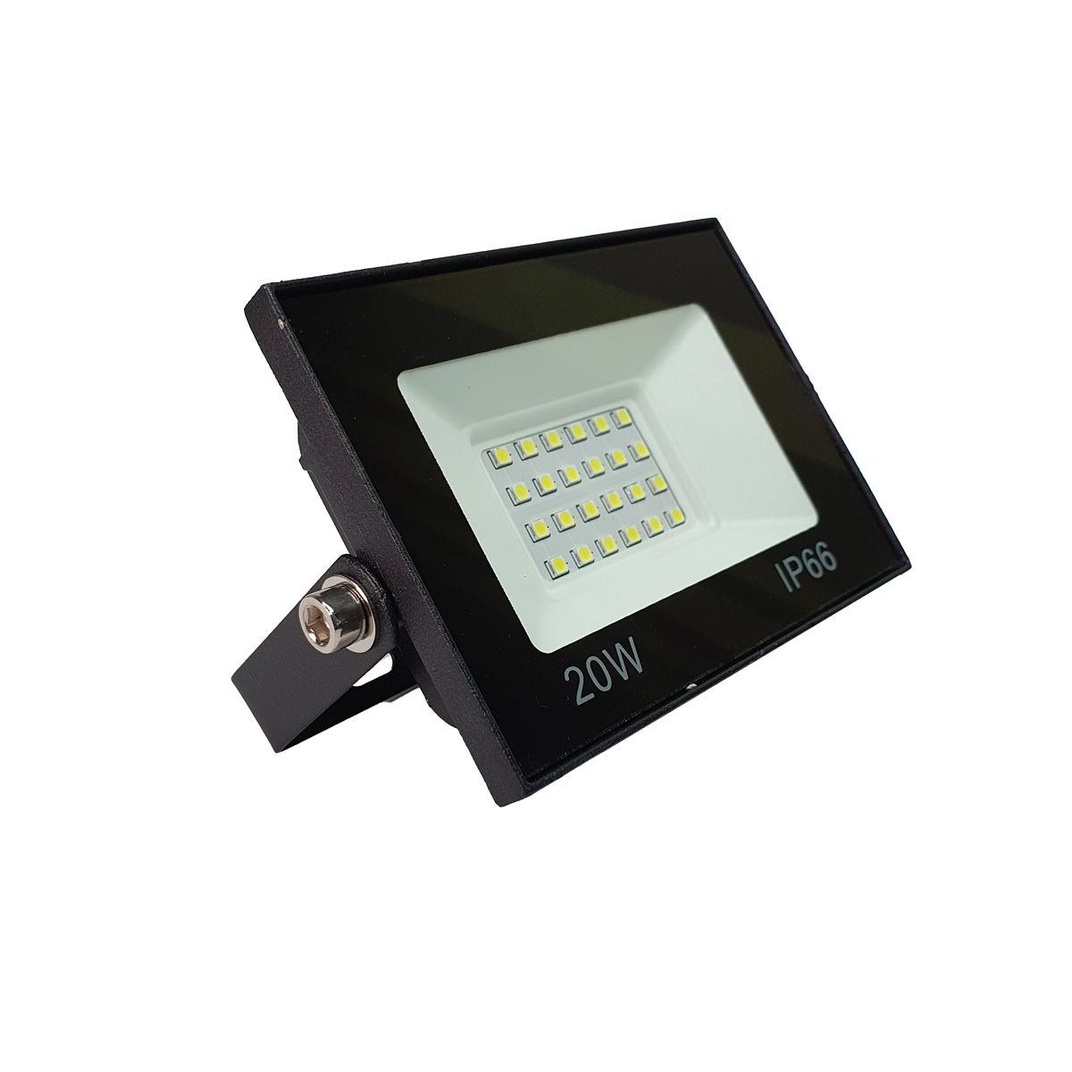 KIT 3 refletor 20w LED SMD Holofote Bivolt Externo Luz Branca