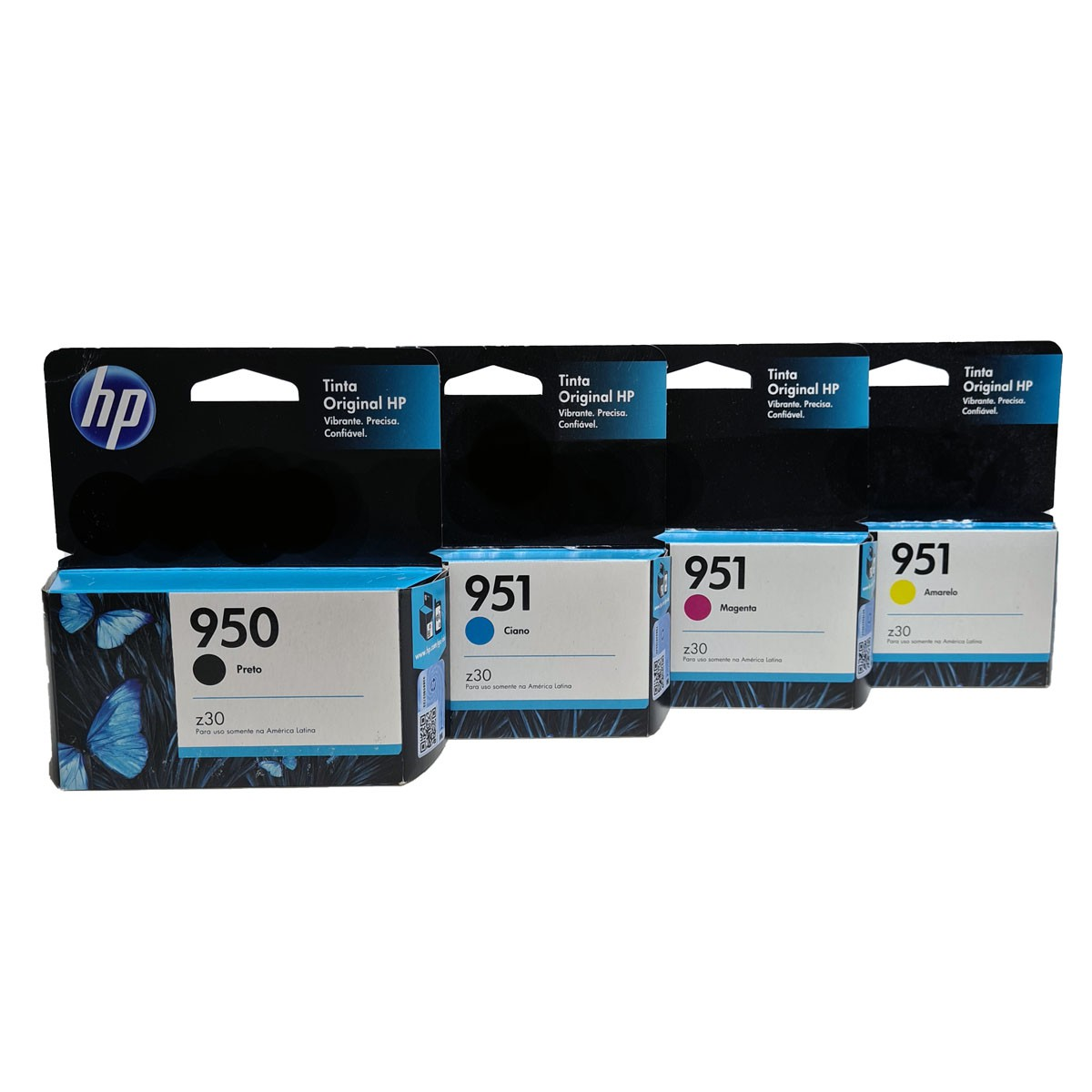 Kit 4 Cartucho HP 950 e 951 para OfficeJet pro 8100 8600 pro8600