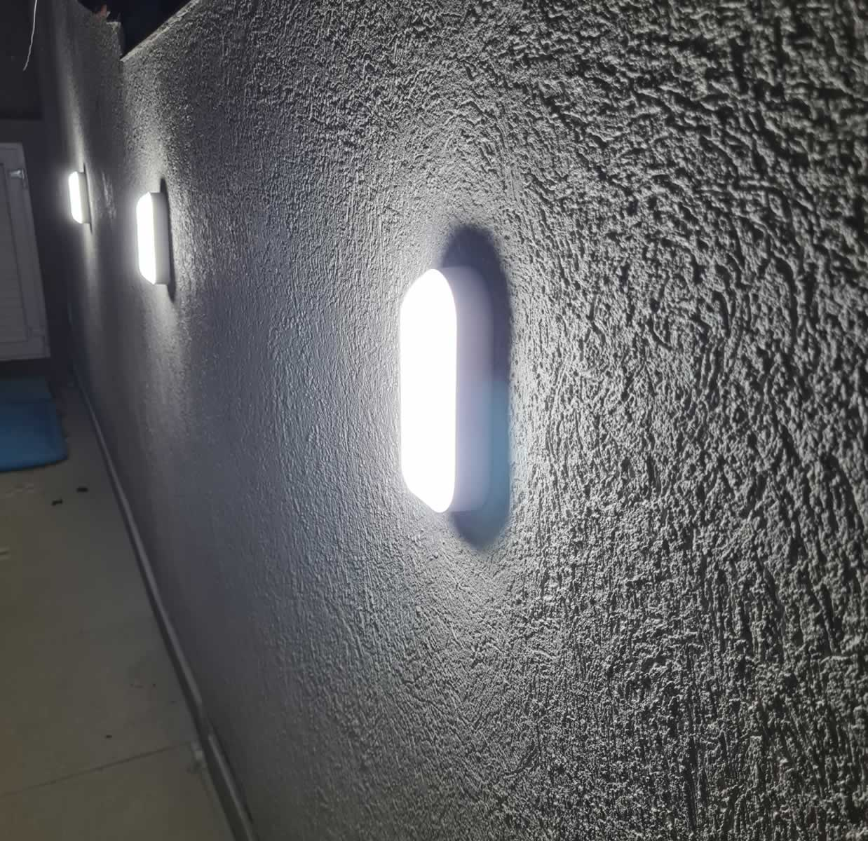 Kit 5 Luminaria Tartaruga Led Sobrepor Branca 12w 6000k