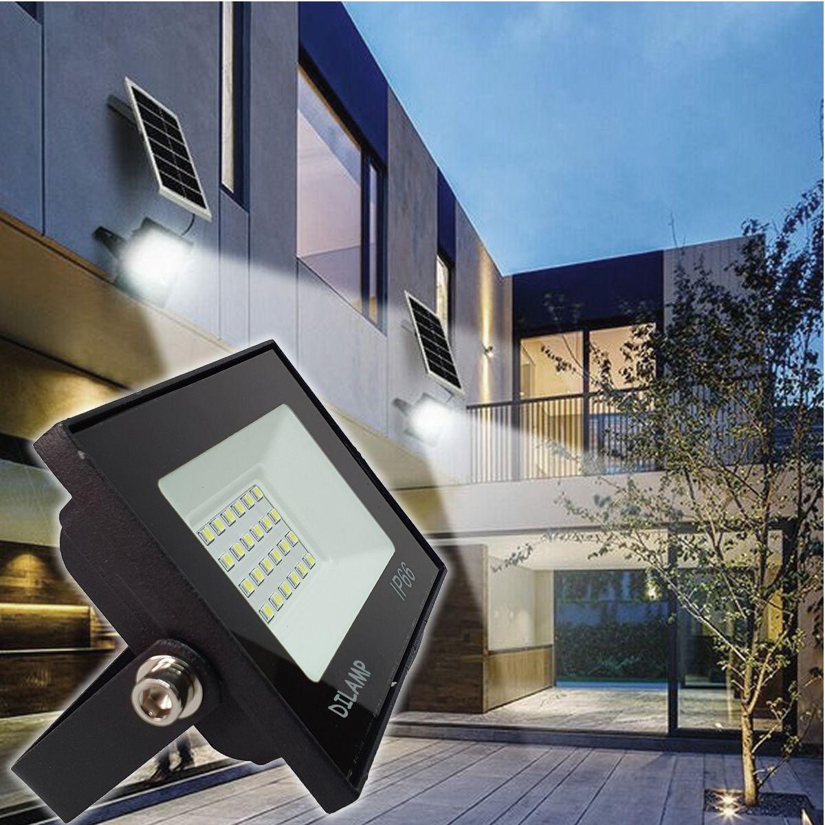 KIT 5 refletor 30w LED SMD Holofote Bivolt Externo Luz Branca