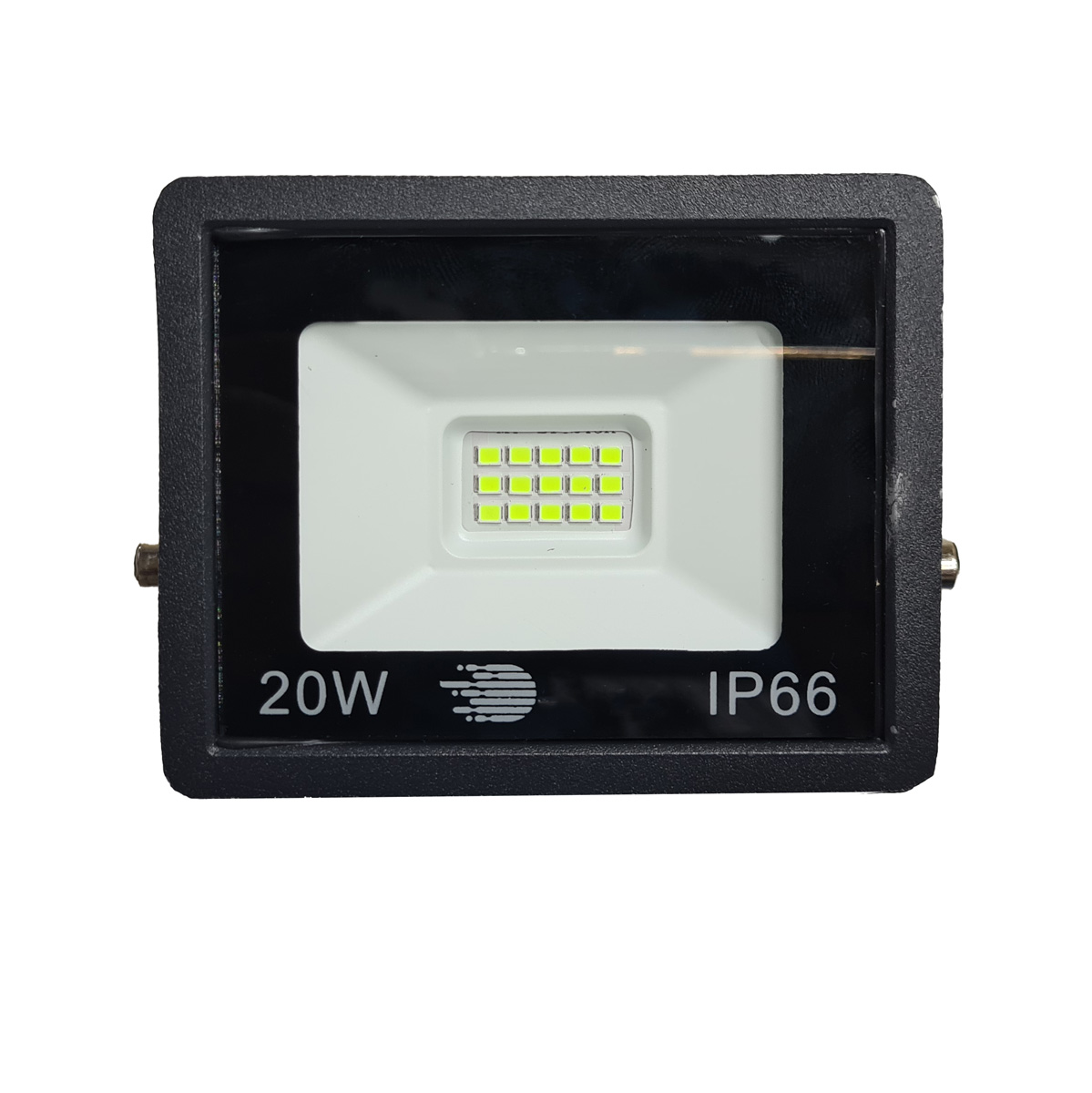Kit 6 Refletores FloodLight SMD LED 20W Bivolt IP66 Luz Verde