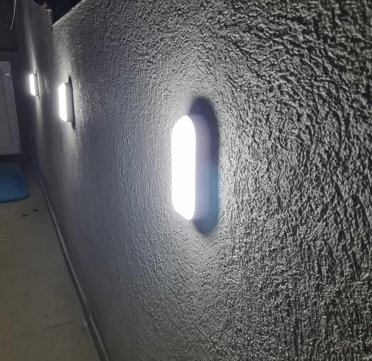 Kit 7 Luminaria Tartaruga Led Sobrepor Branca 12w 6000k