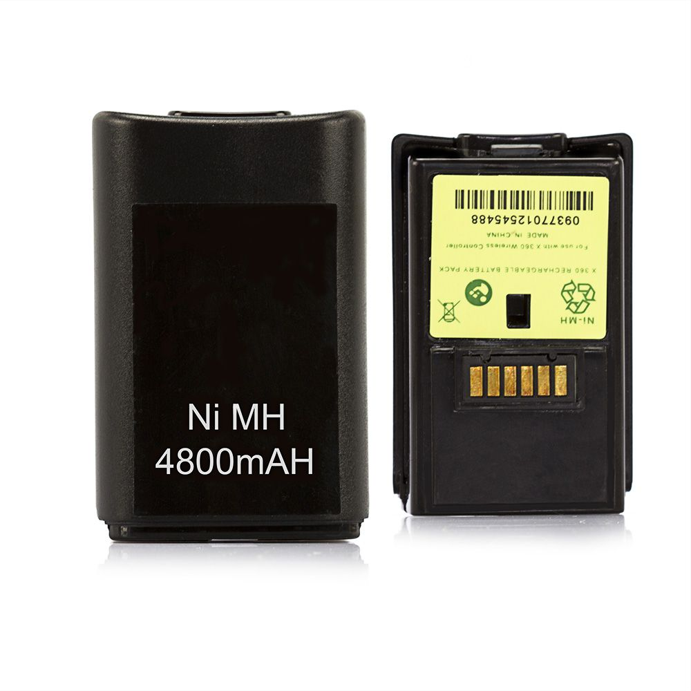 Kit Bateria Com Carregador Para Controle XBOX 360