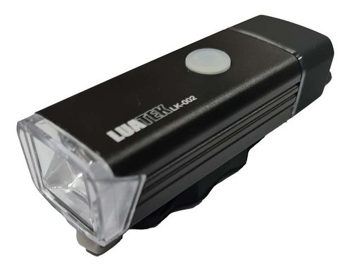 Lanterna Farol Para Bicicleta Usb Recarregavel 350 Lumens LK-002