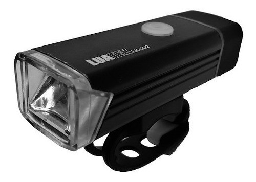 Lanterna Farol lanterna Para Bicicleta Usb Recarregavel 350 Lumens LK-002