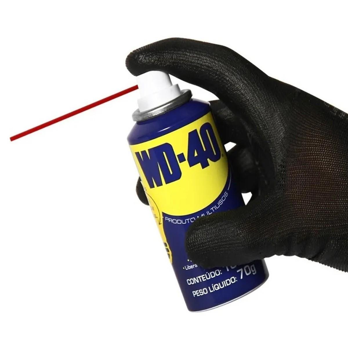 Lubrificante Spray WD-40 Multiuso 100ml Desengripante