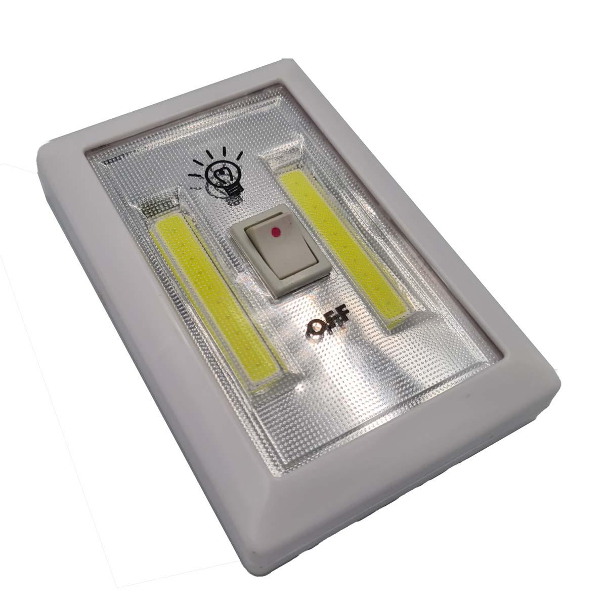 Luminária LED Portátil Interruptor Switch Ligth 3w WH2015