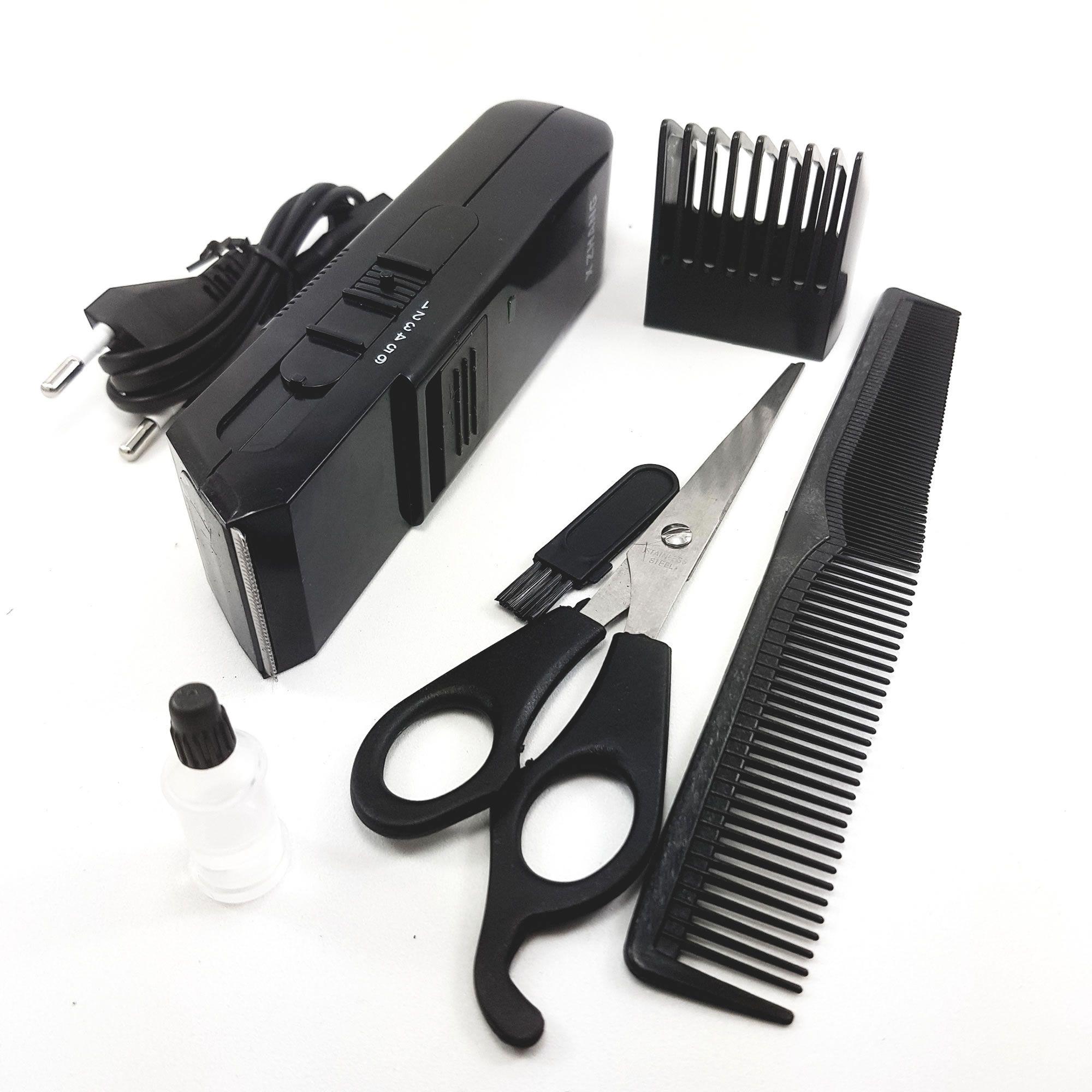 Máquina Aparador Para Cabelos e Barba Sem Fio XZ-389C