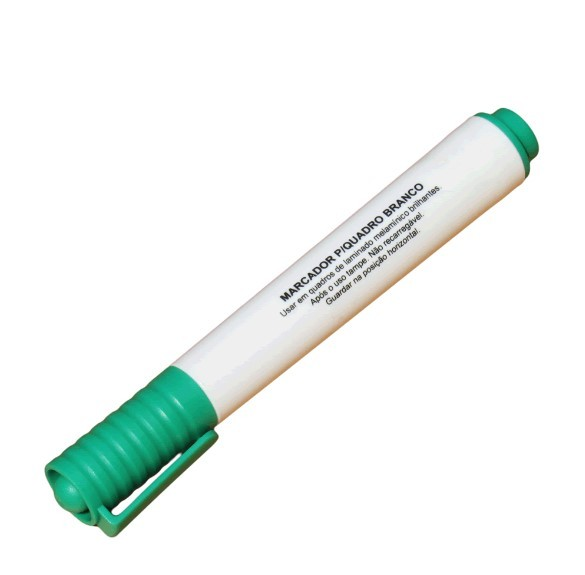 Marcador para Quadro Branco Verde BRW