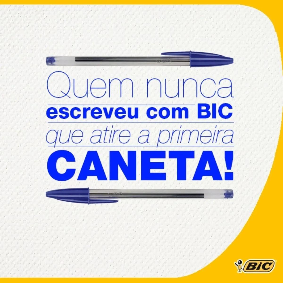 Marcador Permanente BIC Marking Metálico Ponta Média