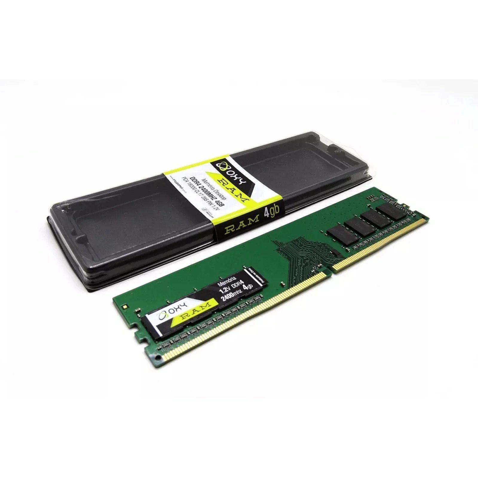 Memória 4Gb DDR4 2400Mhz OXY para PC