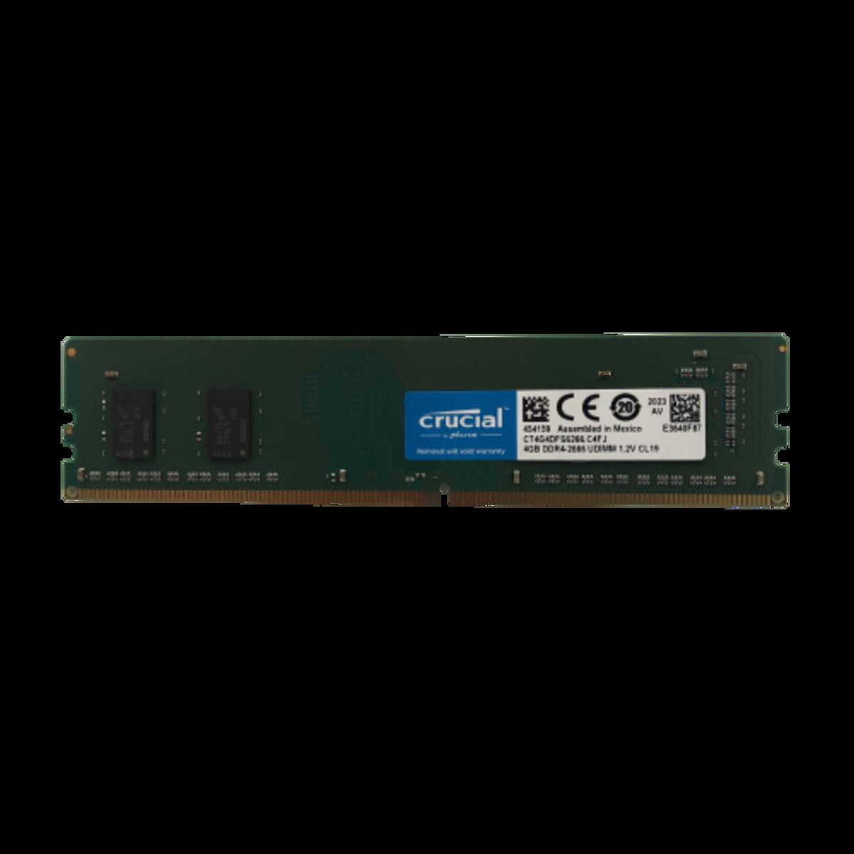 Memória 4GB DDR4 2666 CT4G4DFS6266 Crucial