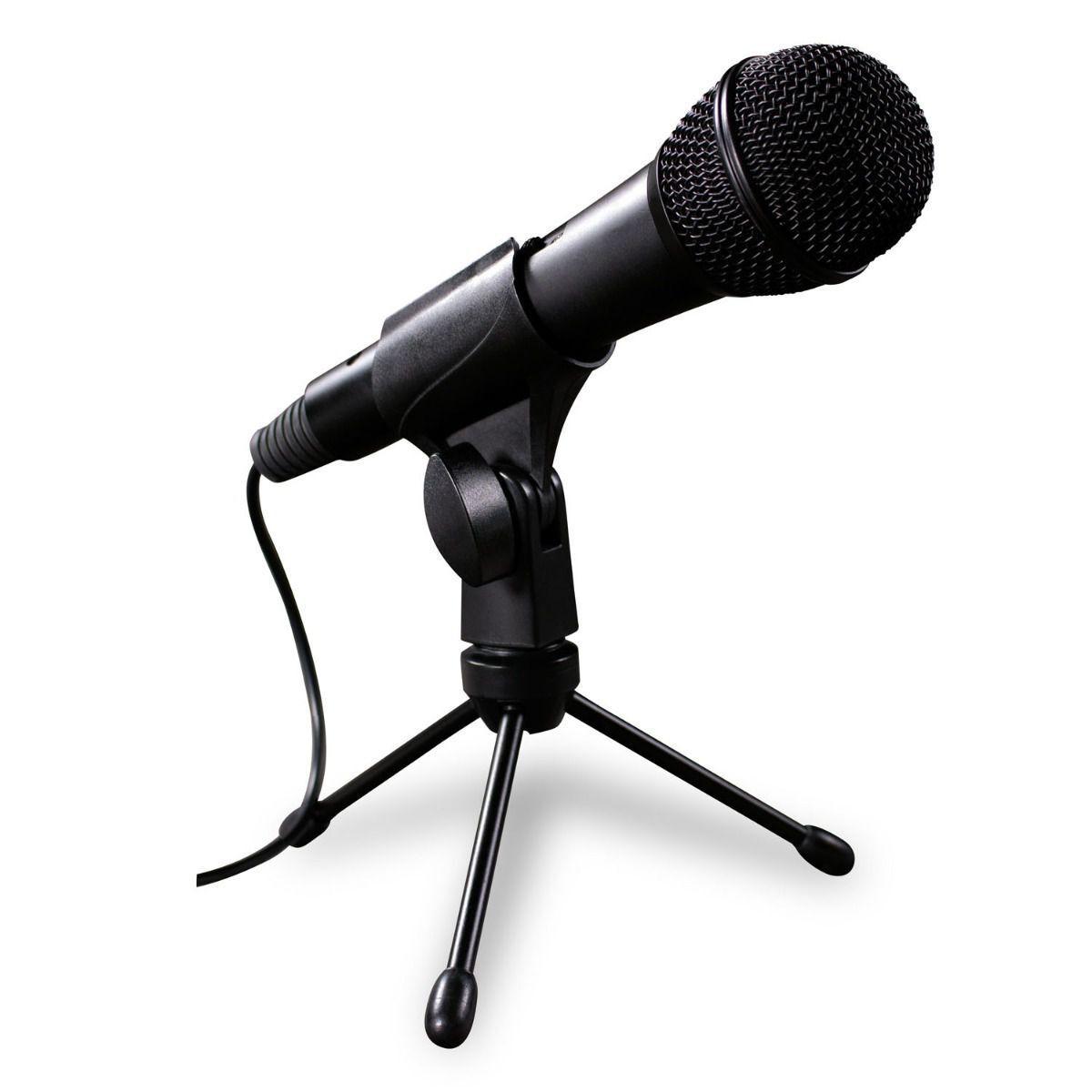 Microfone Condensador para PC gravar vídeo Youtuber Knup KP-918
