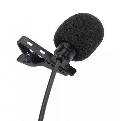 Microfone De Lapela P2 Profissional Stereo Para PC Notebook JH-043 YH