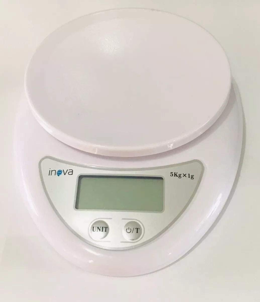 eanxMini Balança Digital Portátil até 5kg Inova