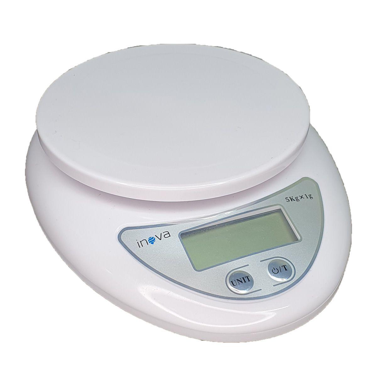 Mini Balança Digital Portátil até 5kg Inova