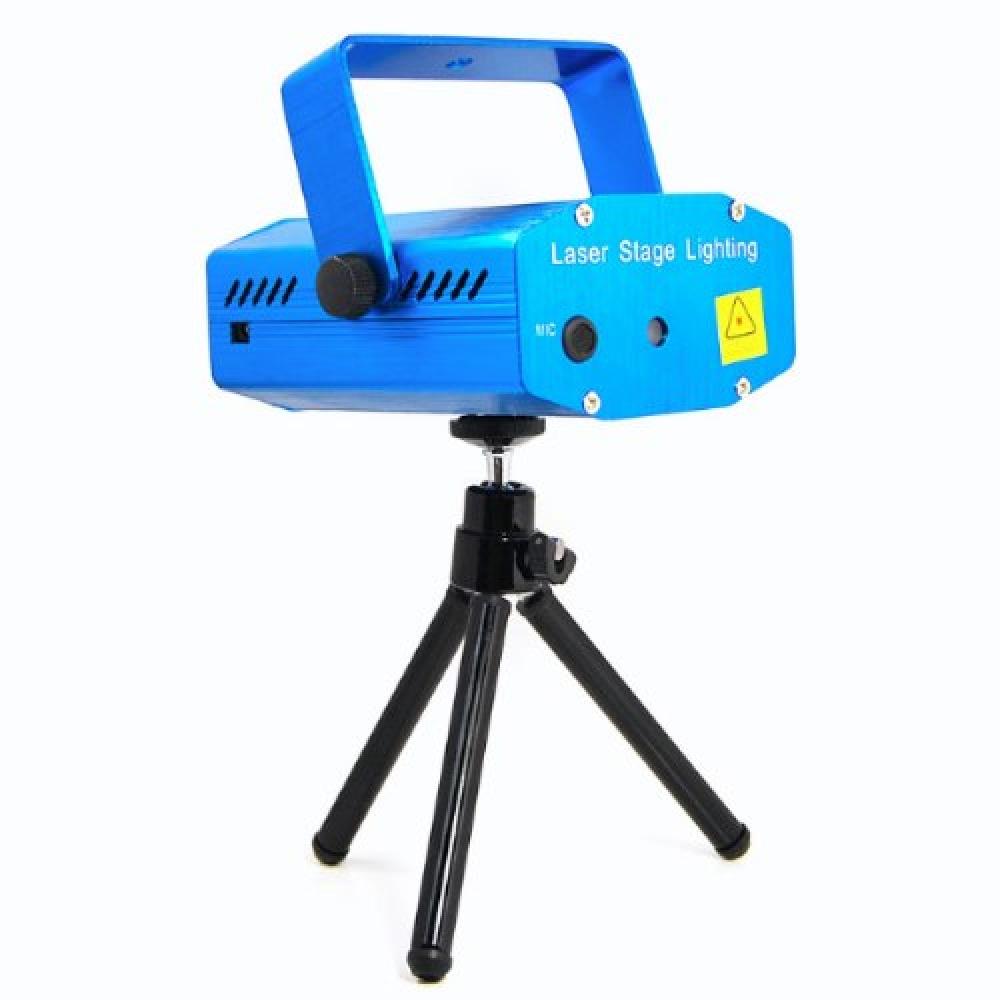 Mini Canhão de Luz Projetor Holográfico Laser para Festas