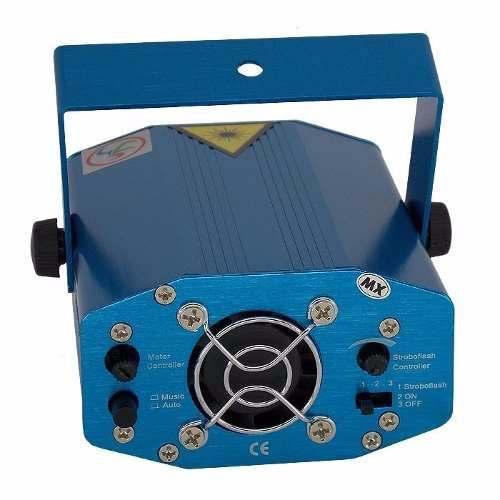 Mini Canhão de Luz Projetor Holográfico Laser para Festas Efeitos de Luz