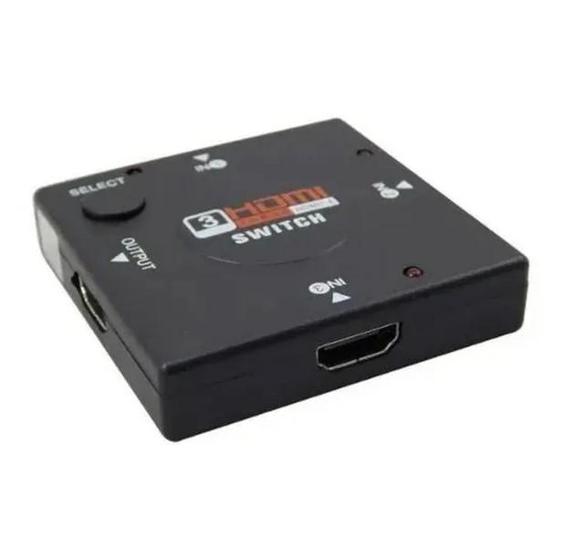 Mini Hub Switch HDMI 3 portas XC-HUB-HDMI X-CELL