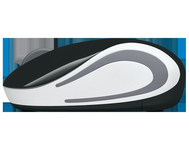 Mini Mouse Sem Fio Wireless M187 Preto Logitech