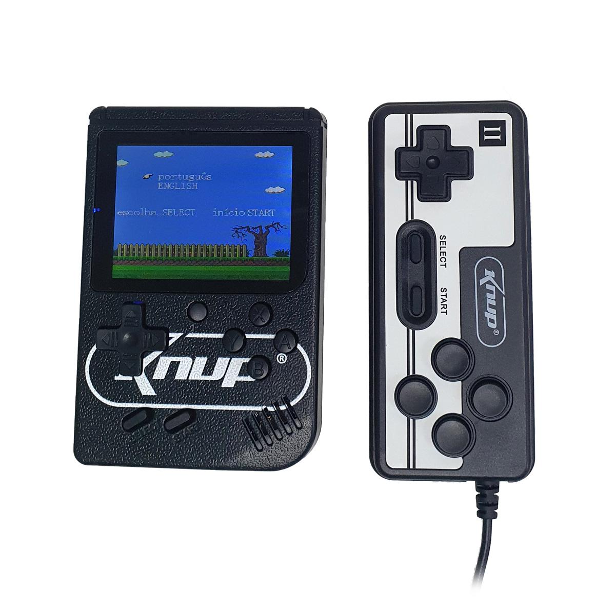 Mini Vídeo Game Retrô GameBox 400 Jogos Clássicos em 1