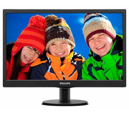 Monitor 18.5pol LCD SmartContrast HDMI VGA Philips 193V5LHSB2/57