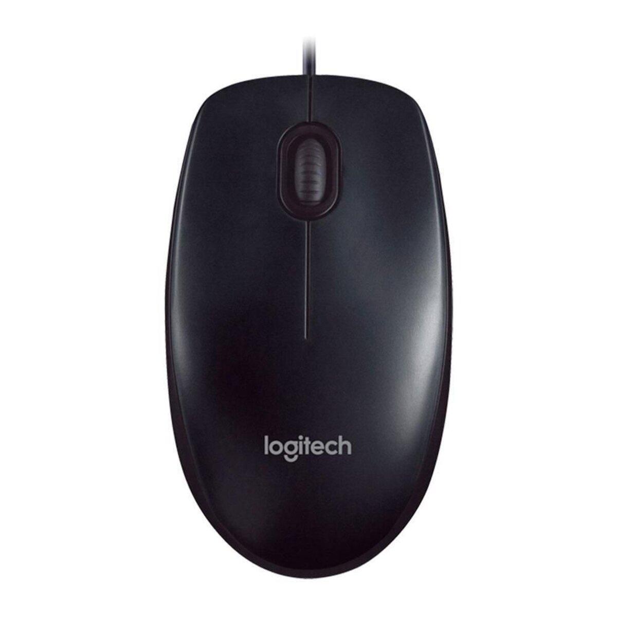Mouse com Fio USB 1000dpi Preto M90 Logitech