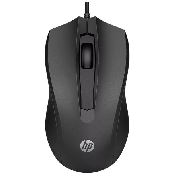 Mouse Com Fio USB 1600dpi Preto 100 HP