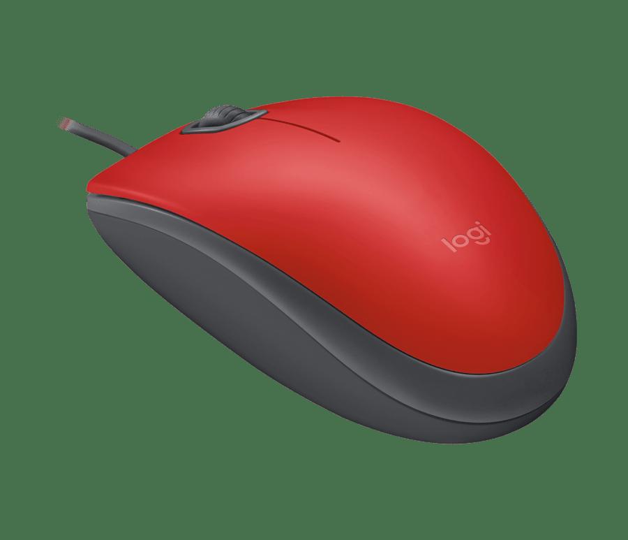 Mouse Com Fio USB Silent Cinza M110 Logitech
