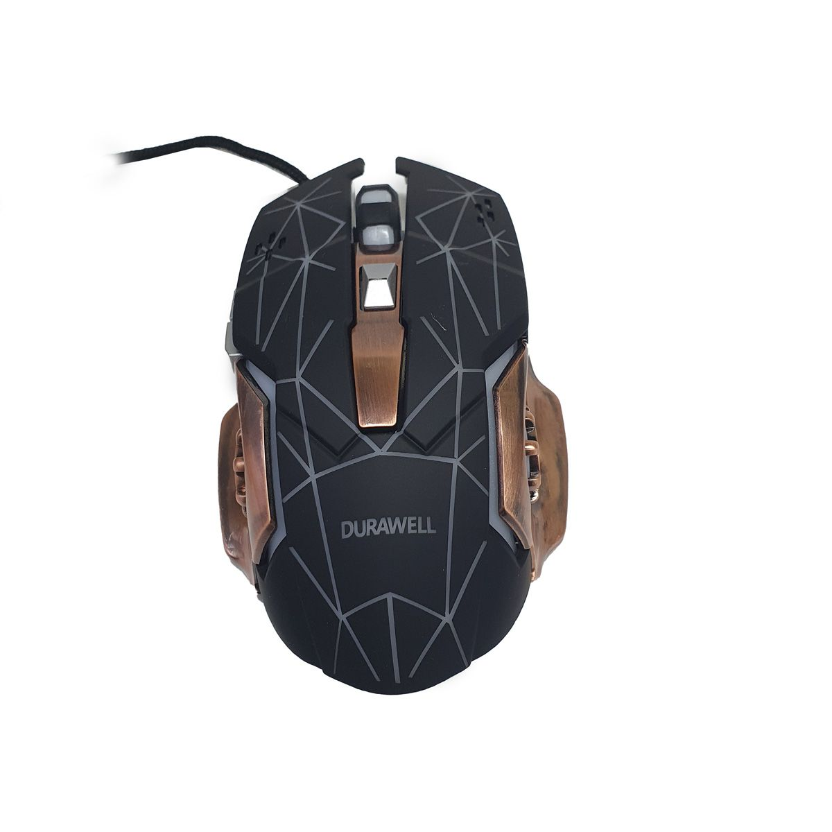 Mouse Gamer Durawell RGB DW-200 Botão Lateral