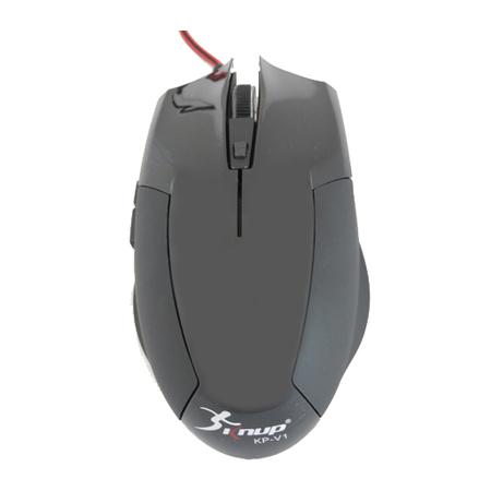 Mouse Gamer  Preto 2400dpi USB KNUP KP-V1