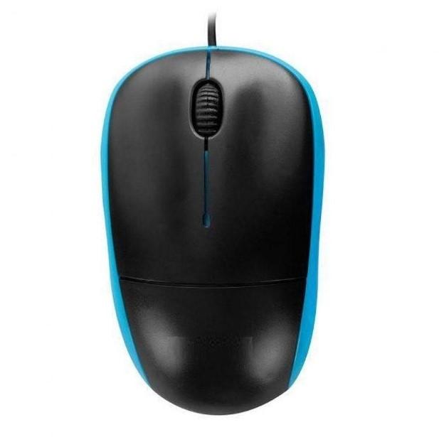 Mouse Óptico Com Fio USB Azul CM11B Chinamate