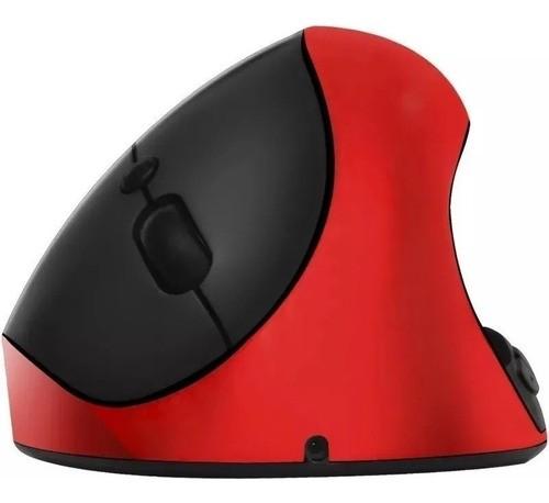 Mouse Óptico Vertical Ergonômico Sem Fio Recarregável XZ-882