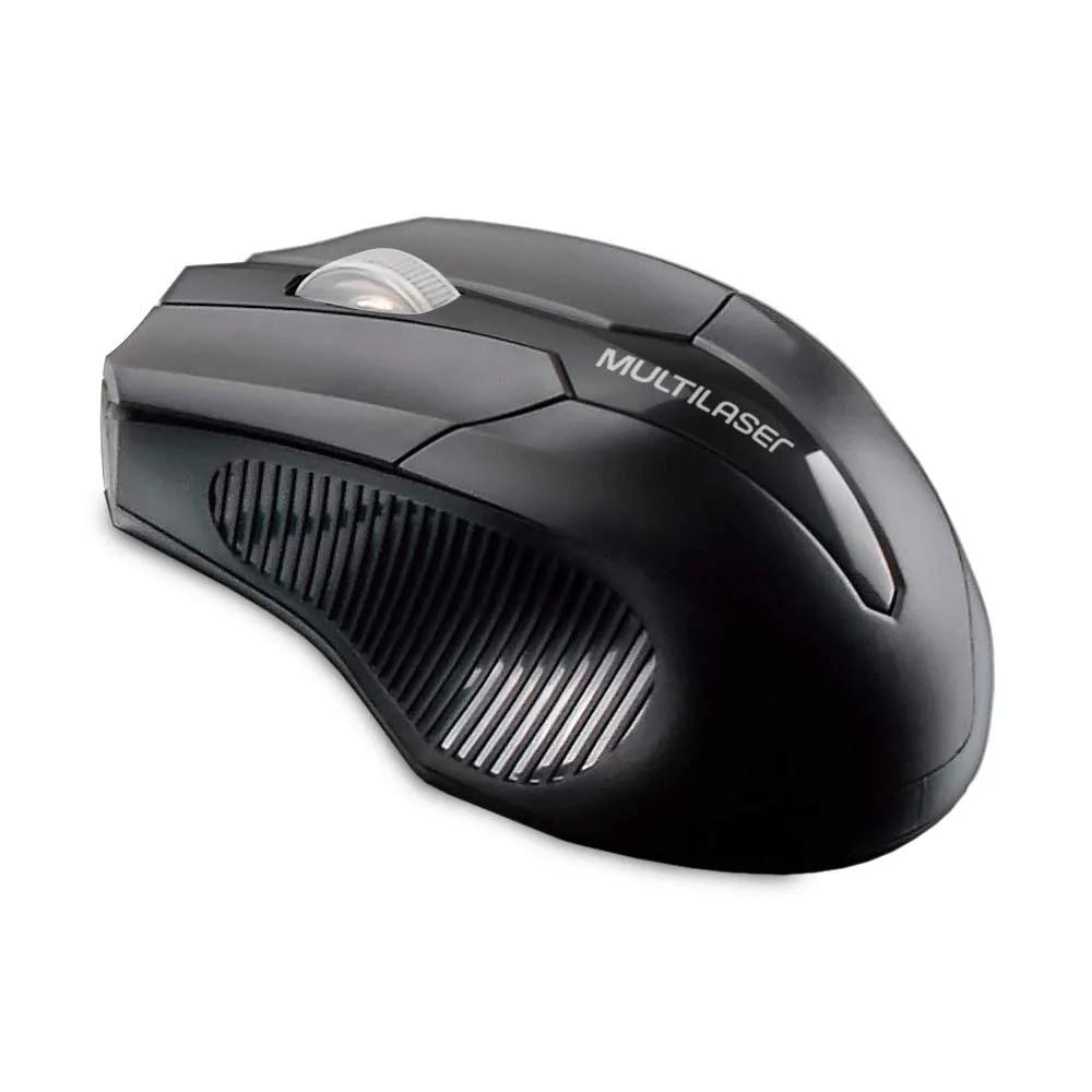 Mouse Sem Fio Óptico Multilaser MO264