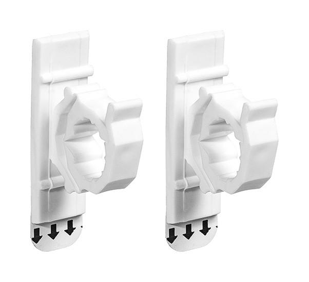 Organizador de cabos e fios adesivo suporta até 0,5Kg com 2 unidades
