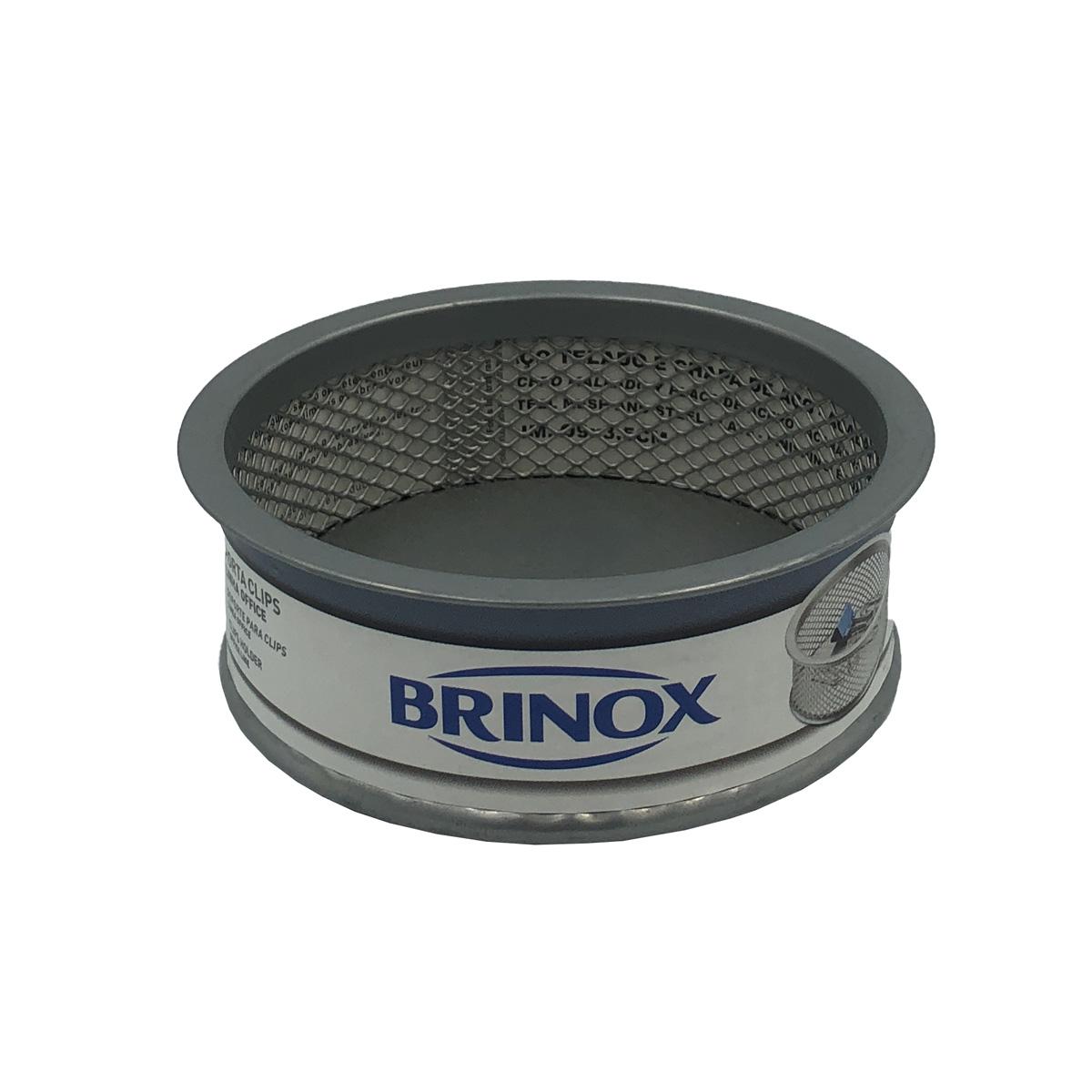 Organizador Porta Clips Office Cinza 2990/301 Brinox