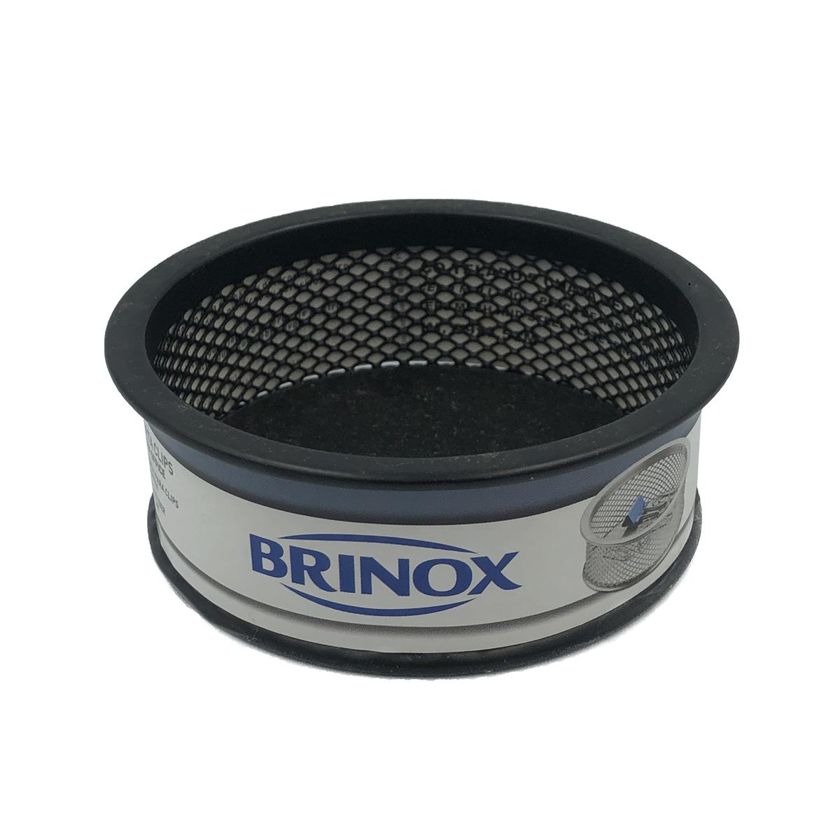 Organizador Porta Clips Office Preto 2990/300 Brinox