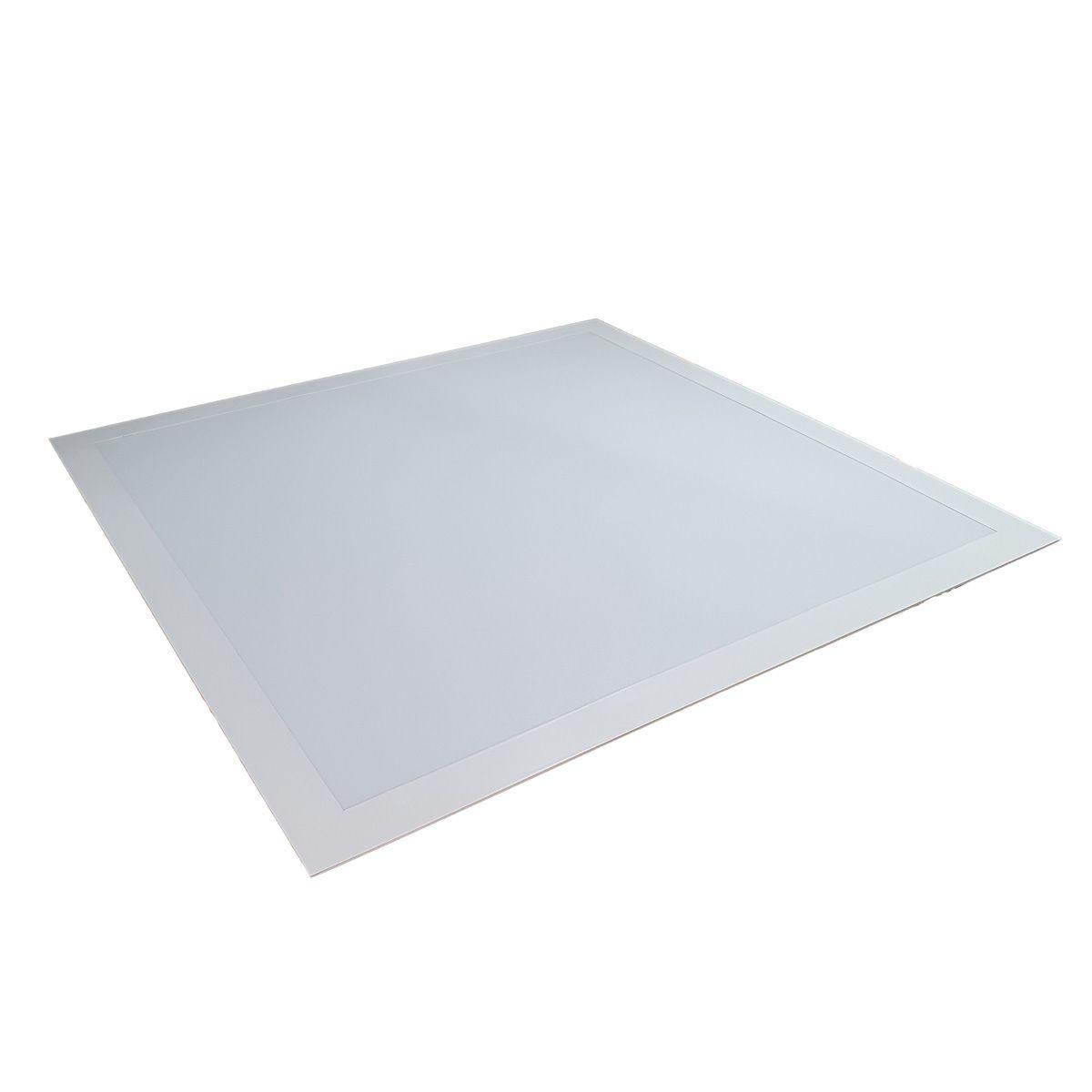 Painel Plafon Led 48w Quadrado Luminaria Embutir Branco Luz Fria
