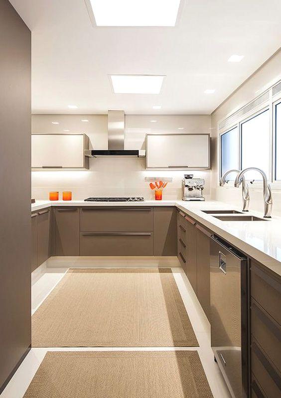 Painel Plafon Led 48w Quadrado Luminaria Embutir Branco Luz Quente