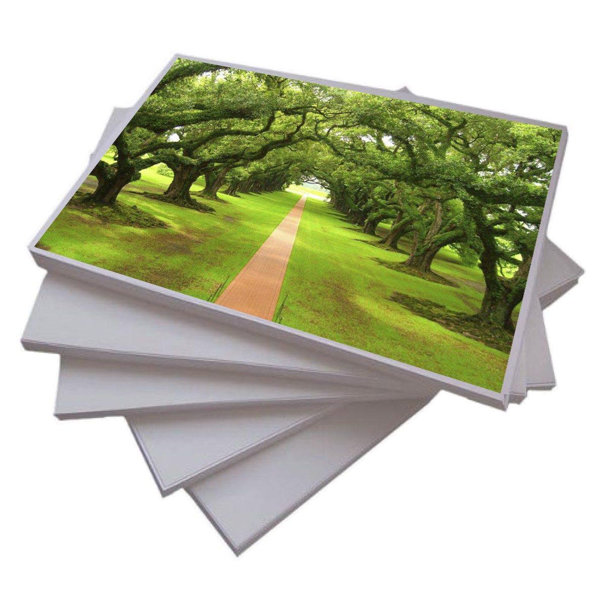 Papel 240gr Foto 100 Folhas A4 Glossy A Prova Dagua