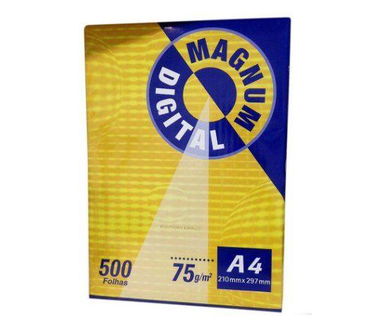 Papel Sulfite Magnum Digital 75g A4 com 500 folhas