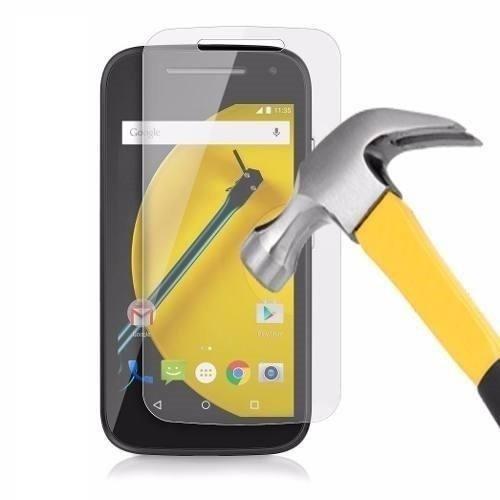 Película de Vidro Temperado Lisa para Motorola Moto E 2° Geração anti impacto