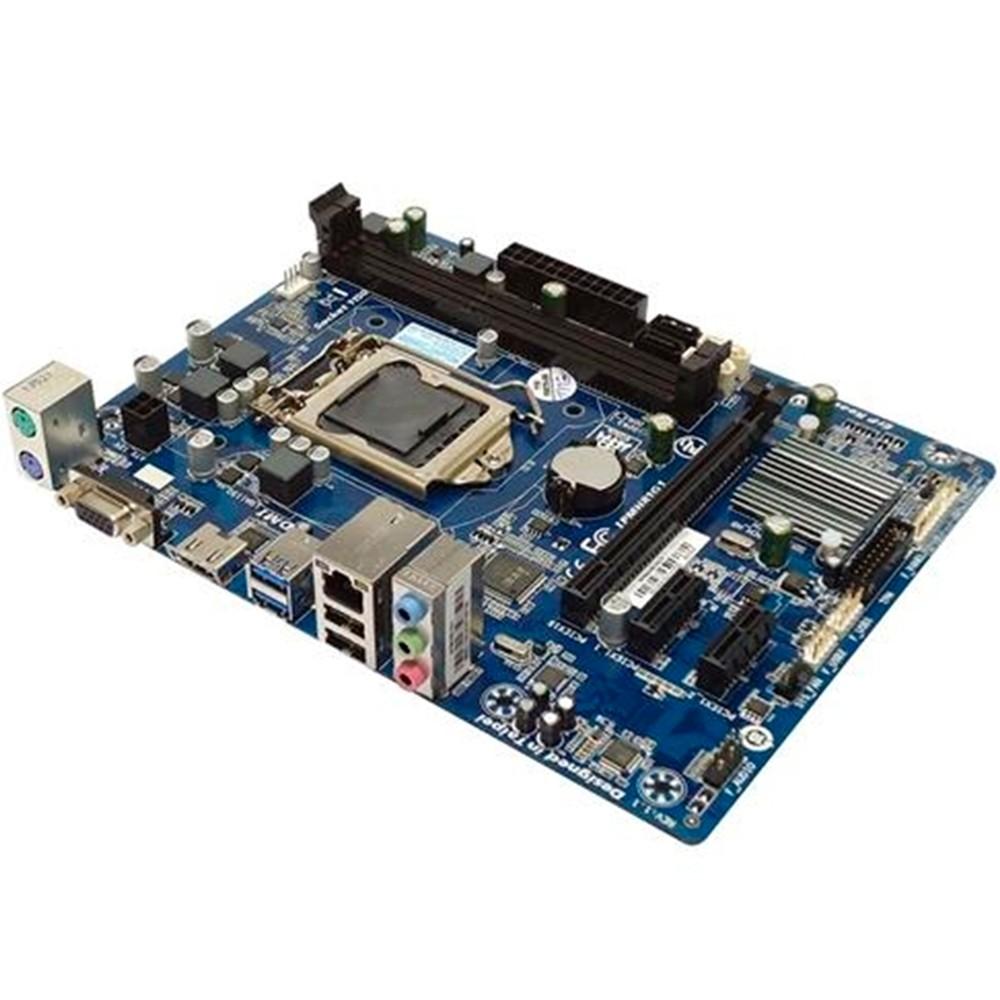 Placa Mãe Motherboard Pcware Para Intel IPMH81G1 LGA 1150 Box