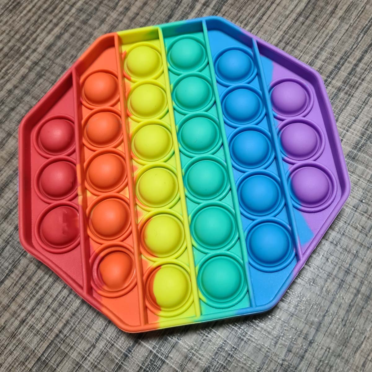 Brinquedo Pop It Fidget Toys Anti Stress Sensorial Colorido