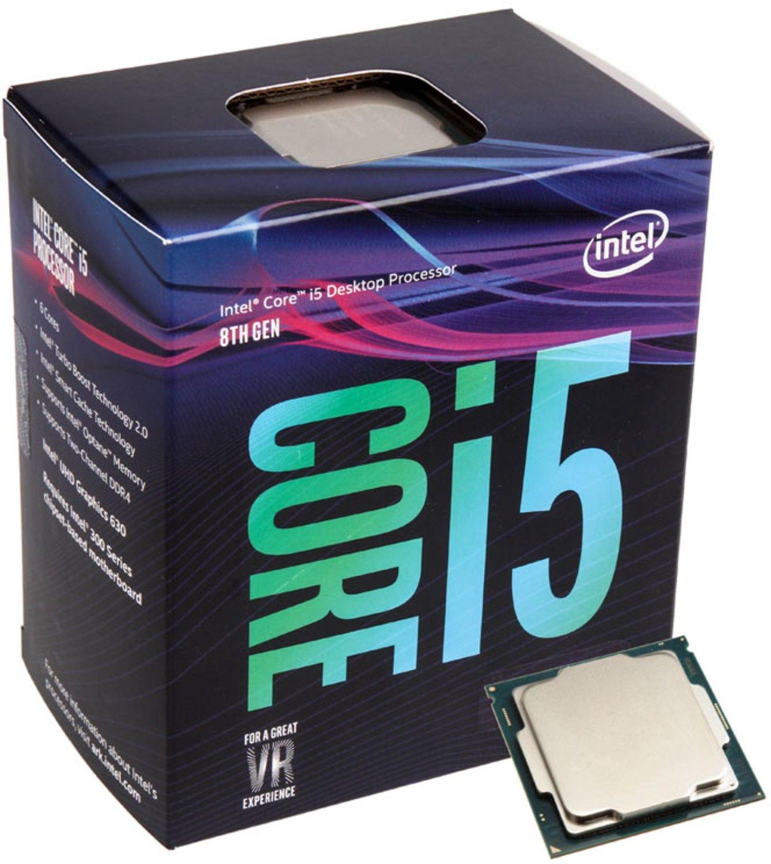 Processador Intel Core i5-8400 LGA1151 6 núcleos 4.0GHz BX80684I58400