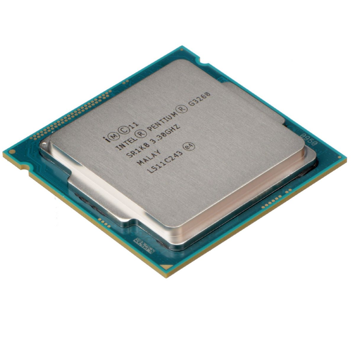 Processador Intel Pentium Dual Core LGA 1150 G3260 3.3GHz 3MB Cache BX80646G3260