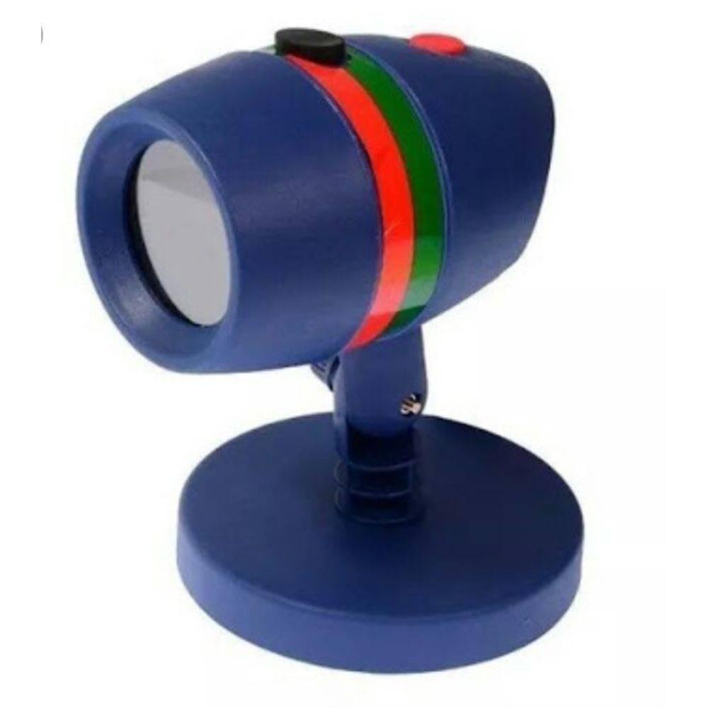 Projetor para Casa Jardim Bivolt LED 5W Espeto Laser Light