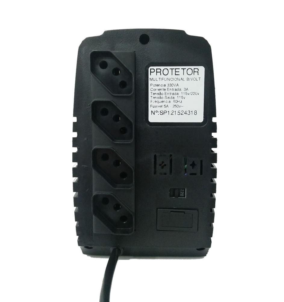 Protetor Multifuncional 500VA Bivolt Automático Energy Lux